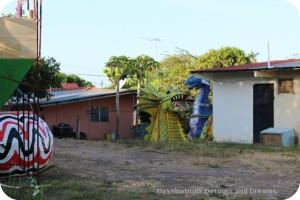 Carnaval float materials