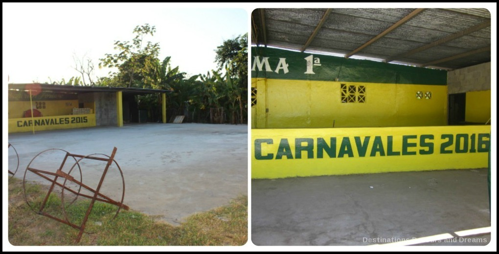 Carnaval party area
