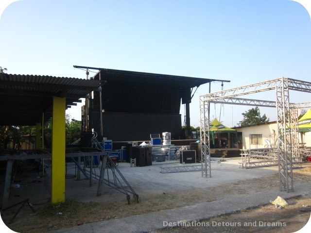 Carnaval stage