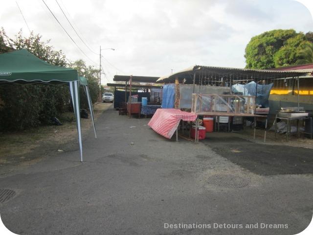 Food stalls Pedasi Carnaval