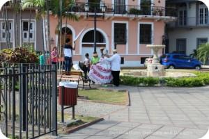 Pollera photo shop in Casco Viejo