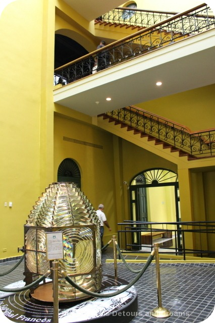 Lobby of Panama Canal Museum