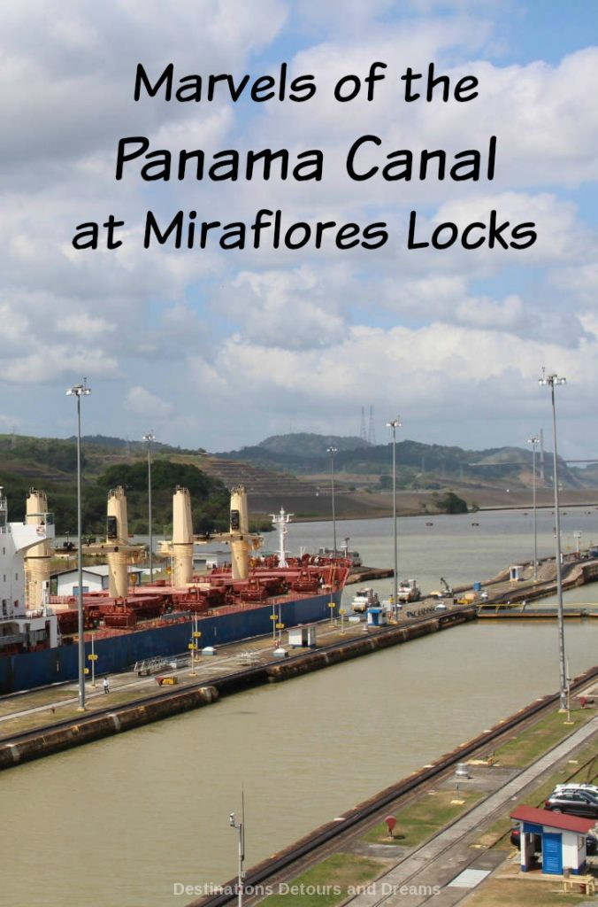 See the marvels of the Panama Canal at Miraflores Locks: still an impressive engineering accomplishment