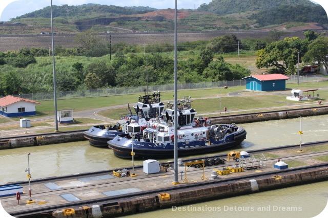 Panama Canal tugboats