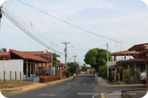 Main street in Pedasi
