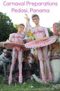 Carnaval Preparations in Pedasi, Panama