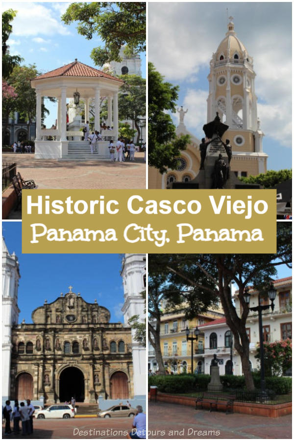 Casco Viejo, Unesco World Heritage Site, is the historic old town of Panama City, Panama and a top tourist attraction
