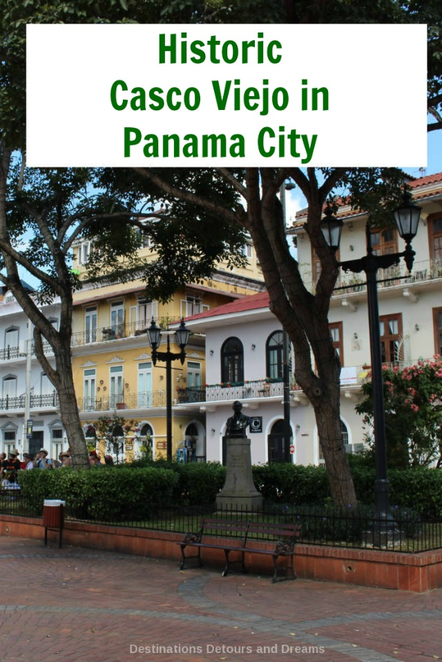 Casco Viejo, Unesco World Heritage Site, is the historic old town of Panama City, Panama