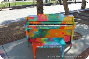 Street Pianos in Mesa - Knowledge is Key