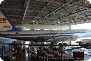 Air Force One exhibit at Ronald Reagan Presidential Library