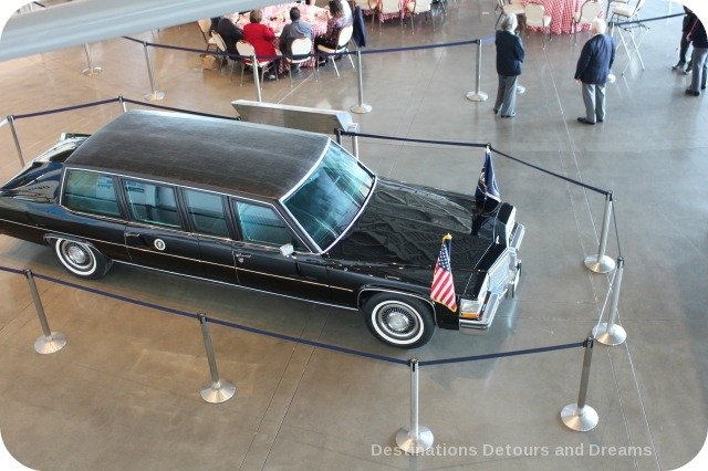 Presidential Motorcade car at Ronald Reagan Presidential Library