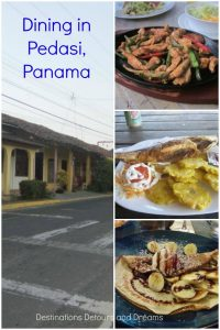 Pedasi on the Azuero Peninsula in Panama has a great selection of restaurants and dining options