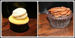 Savor Healdsburg Food Tour: Moustache Baked Goods cupcakes
