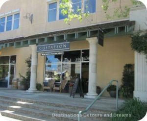 Savor Healdsburg Food Tour: Gustafson Family Winery Tasting Room