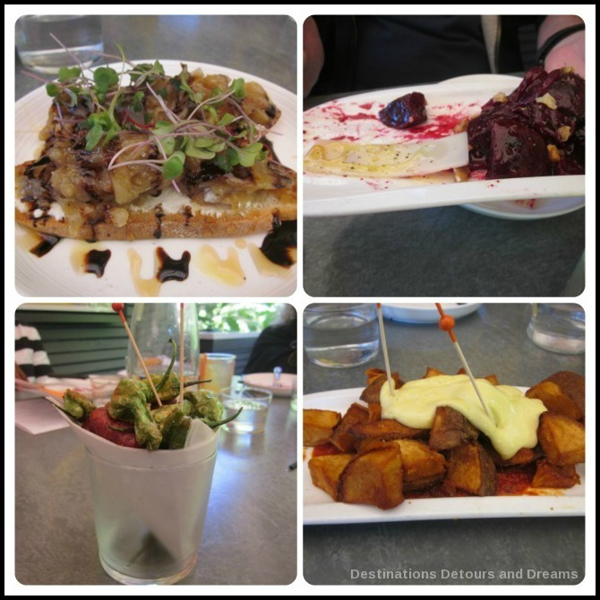 Savor Healdsburg Food Tour: tapas at Bravas