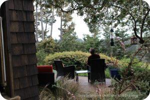 Relaxing at Brewery Gulch Inn
