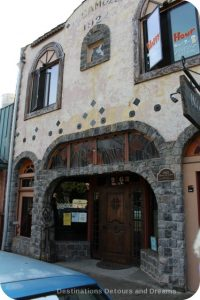 Camozzi's Bar and Hotel, now Mozzi's Saloon, was built in 1922 in Cambria, California