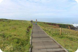 Cambria coastal boardwalk