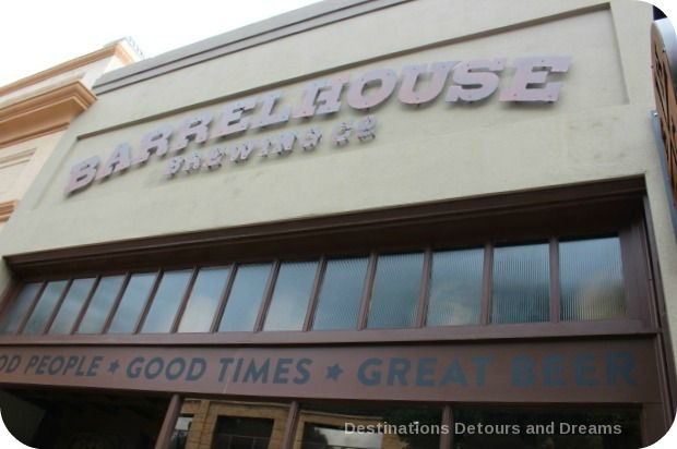 Craft beer in Wine Country; Barrelhouse Brewing Company