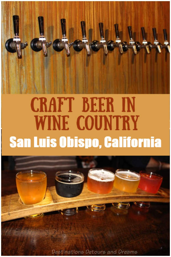 A craft beer tour in San Luis Obispo (SLO), California #California #craftbeer #SLO #SanLuisObispo