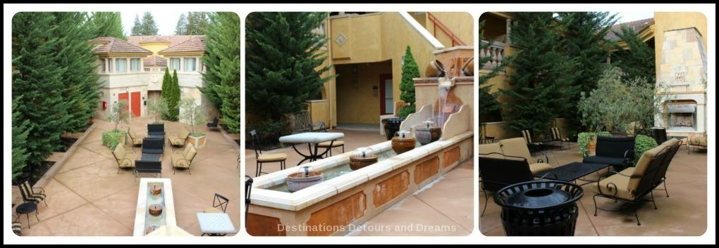 Dry Creek Inn Courtyard
