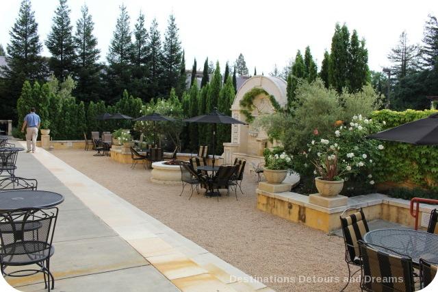 Dry Creek Inn outdoor space