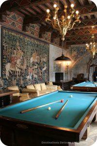 Hearst Castle Billiards Room