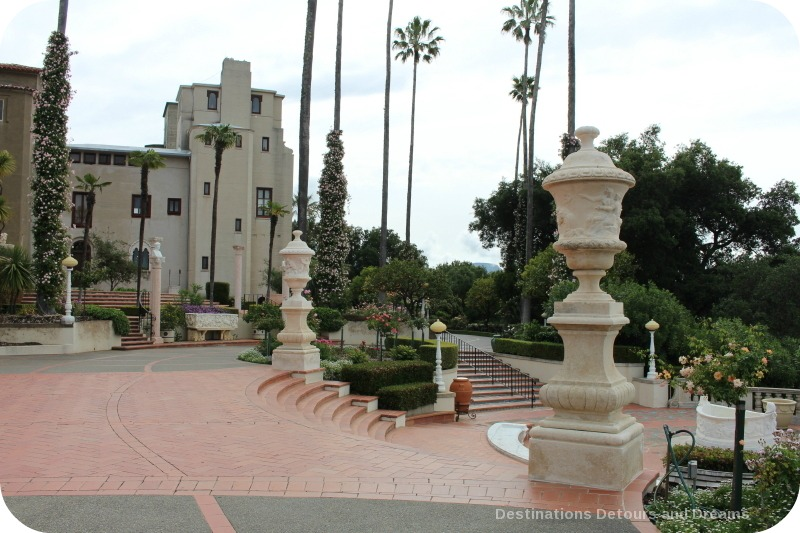 Hearst castle hilltop opulence and art destinations for Castle gardens pool