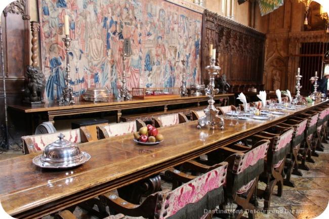 Hearst Castle dining room