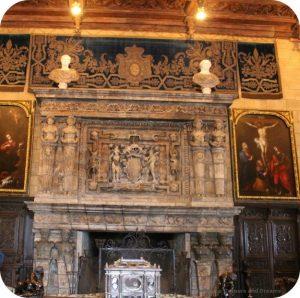 Hearst Castle fireplace