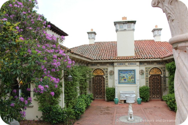 Hearst Castle guest cottage