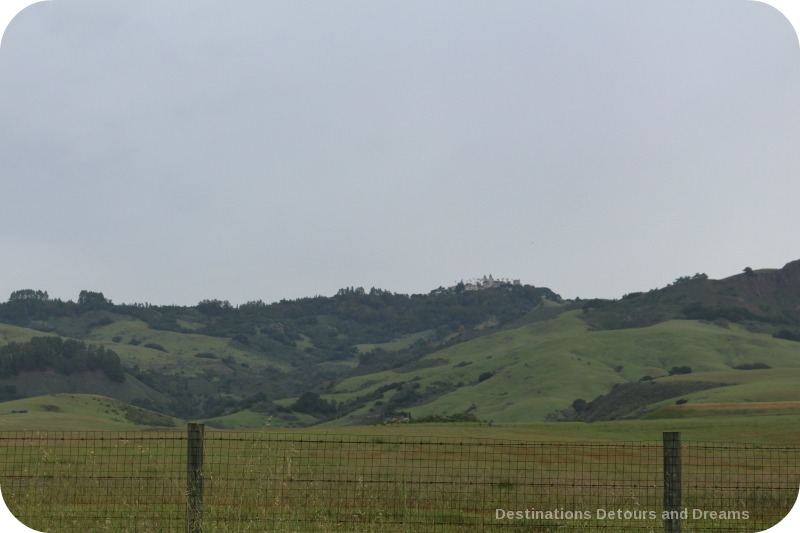 Hearst Castle on the hill: opulence and art