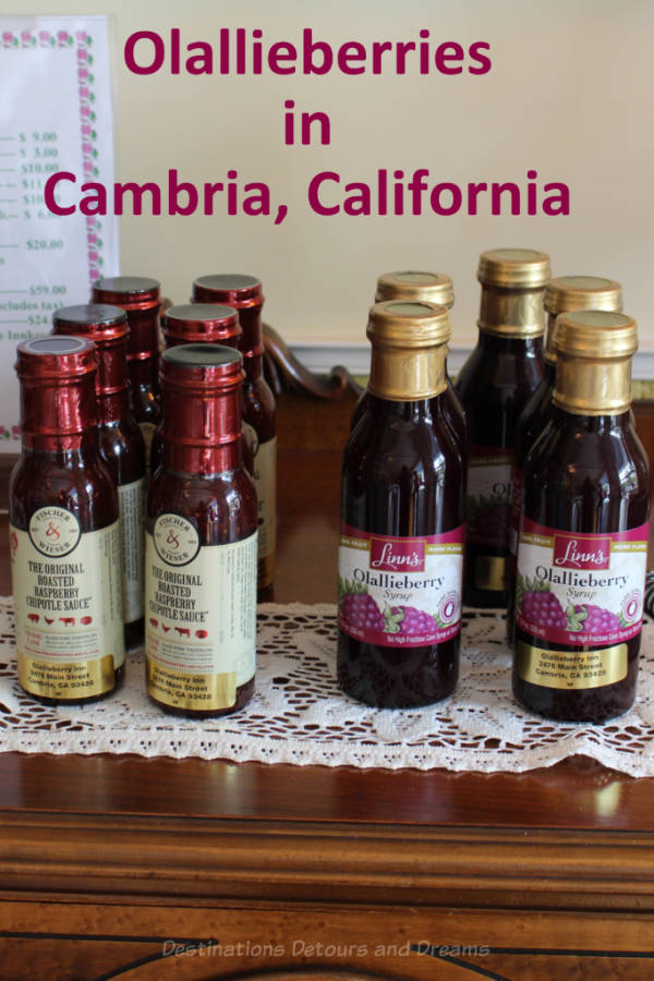 Learning to cook with Olallieberries at an historic inn in Cambria, California #California #Cambria #olallaberry