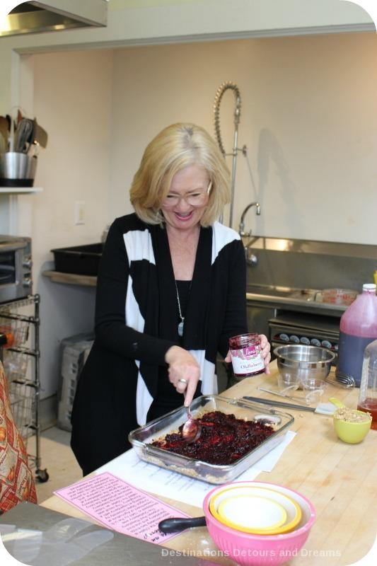 Maureen Hubbell at Olallieberry Inn