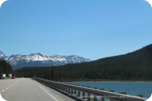 Trans Canada Highway through the Columbia Mountains