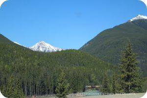 Columbia Mountains in British Columbia
