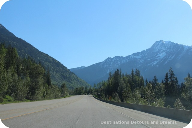 Driving Through a Postcard Revelstoke to Banff