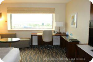 Intercontinental Miami desk area