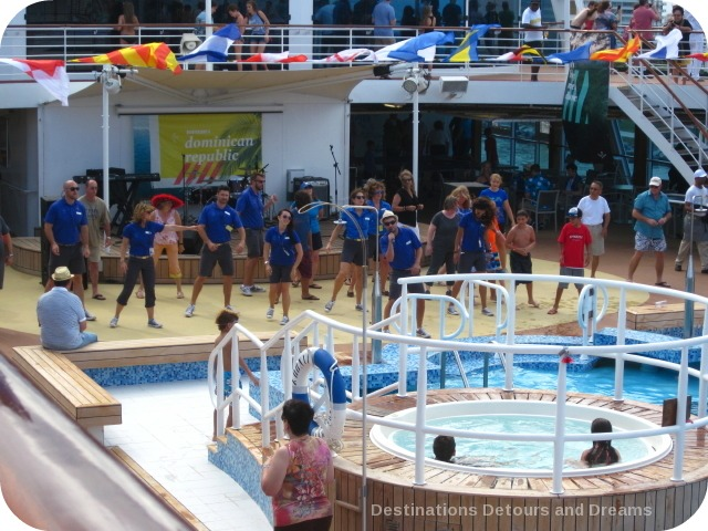 Fathom cruise sailaway party