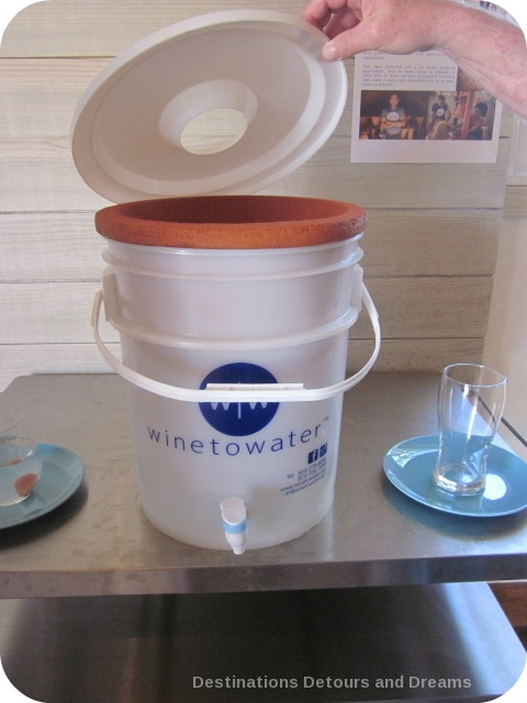 Wine to Water water filter