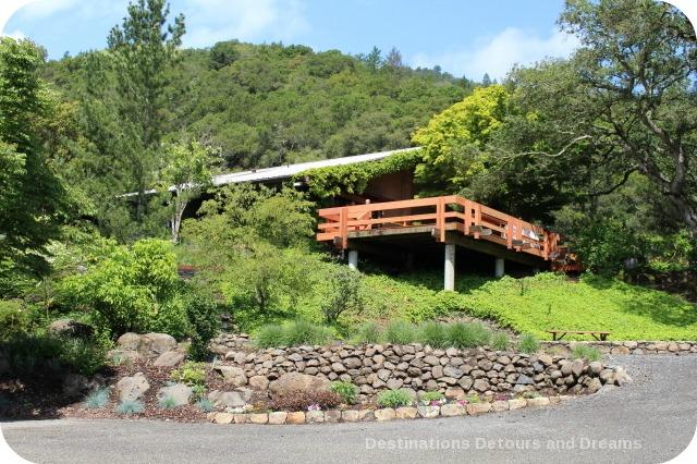 Staircase Garden at Matanzas Creek Winery