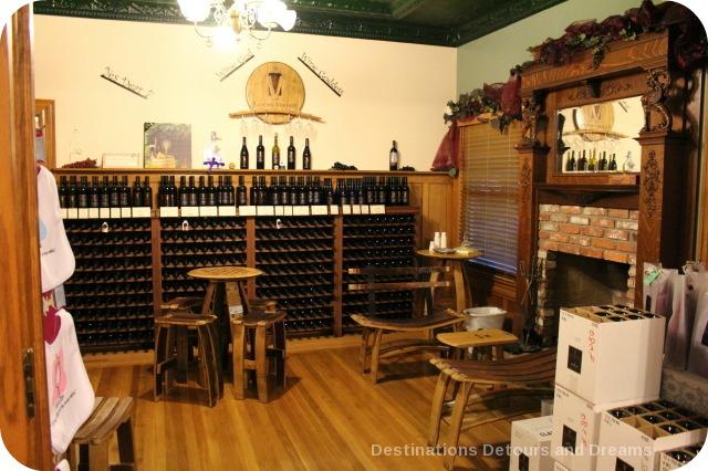 Inside Ranch Ventavo Cellars, Oxnard, California