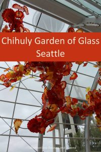 Chihuly Garden of Glass in Seattle - magical beauty of blown glass #Seattle #art #glass #Chihuly #garden