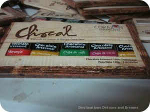 Chocal chocolate bars