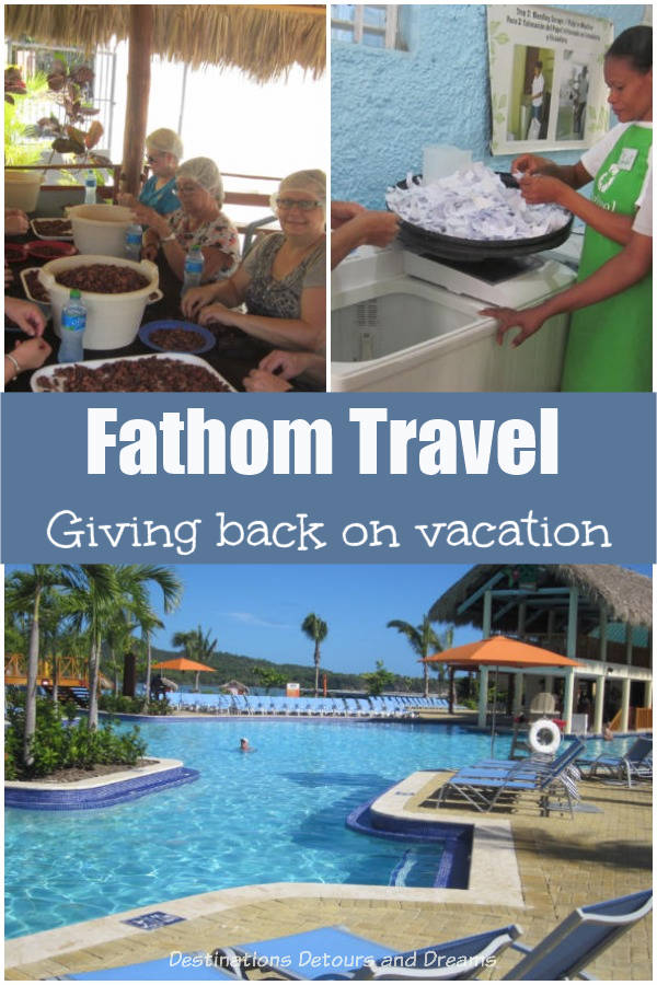 Fathom Travel - making a difference on vacation. Opportunities to help the community while cruising in the Caribbean. #cruise #Caribbean #voluntourism #socialimpact