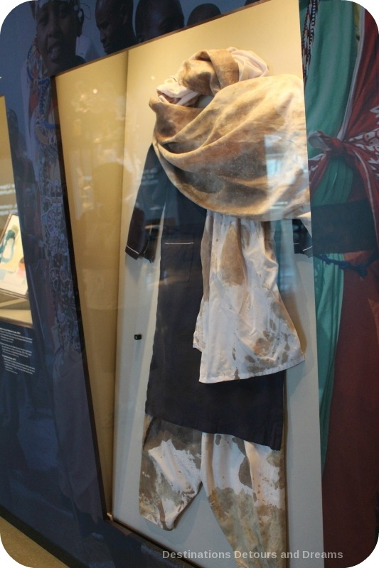 Malala Yousafzai dress on display at Canadian Museum for Human Rights