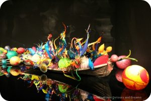 Boat at Chihuly Garden and Glass