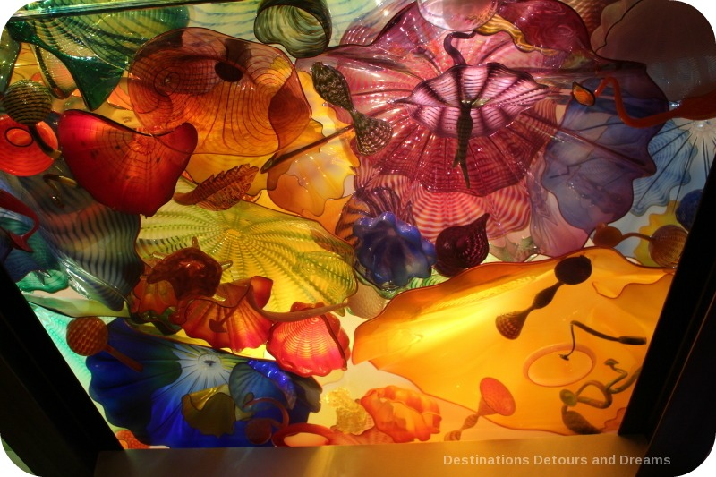 Dale Chihuly Persian Ceiling at Garden and Glass