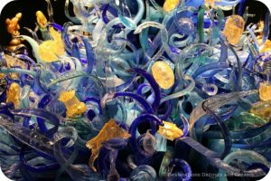 Inspired by the sea: glass art at Chihuly Garden and Glass