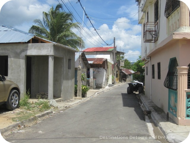 Street in the Dominican Republic